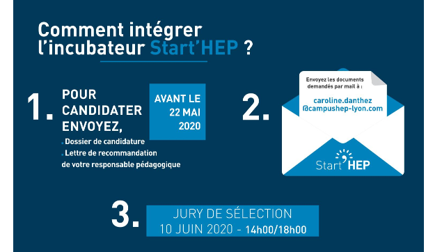 Start'HEP : Appel à candidatures